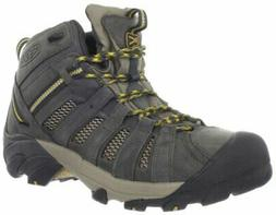 KEEN Men's Voyageur Mid Hiking Boot Raven/Tawny Olive