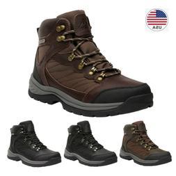 Men's Waterproof Hiking Boots Mid Ankle Hiker Mountaineering