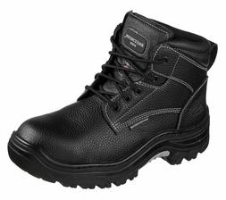 Skechers Men's   Work Burgin Tarlac Steel Toe Boot-wide fit-