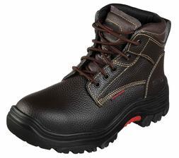 Skechers Men's   Work Burgin Tarlac Steel Toe Boot-medium -