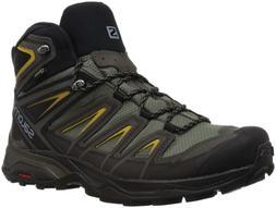 Salomon Men's X Ultra 3 Mid GTX Hiking Boot, Castor Gray, 9