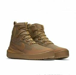 Nike Men Sz 8.5 Air Wild Mid 916819-200 Golden Beige Ale Brn