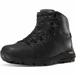 "Danner Mens 62248 Outdoor Mountain 600 Carbon Black 4.5"" Lea"