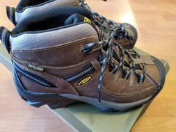 Keen Mens 7 Hiking Waterproof Boots Targhee II Mid Shitake/B