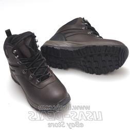 New Mens EDDIE BAUER Everett Hiking Boots Waterproof Leather