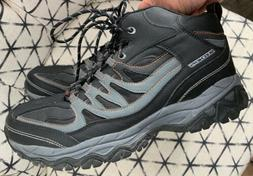SKECHERS MENS EXTRA WIDE COOL MEMORY FOAM HIKING ANKLE BOOTS