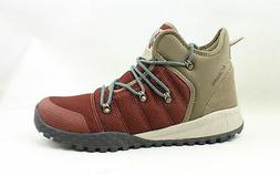 Columbia Mens Fairbanks Red Hiking Boots Size 10