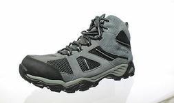 Columbia Mens Hammond Shark/Light Grey Hiking Boots Size 12
