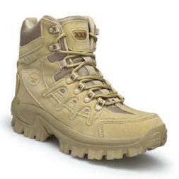 mens high top military tactical boots desert
