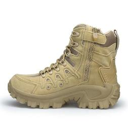 mens high top military tactical boots desert