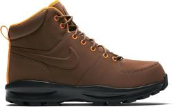 Nike Mens Manoa Leather Hiking Boots Fauna Brown Outdoor Sho