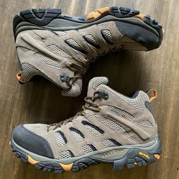 Merrell Mens Moab 2 Mid Ventilator Hiking Trail Boots Brown