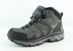 Skechers Mens Morsen Gelson Gray Hiking Boots Size 9.5