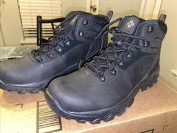 Columbia Mens Newton Ridge Plus II Waterproof Hiking, Black,