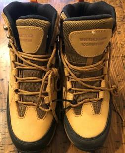 Skechers Mens Polano Norwood Hiking Boots Brown Mesh 65755 U