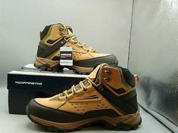 Skechers Mens  Relaxed Fit Polano Norwood Camel Hiking Boots