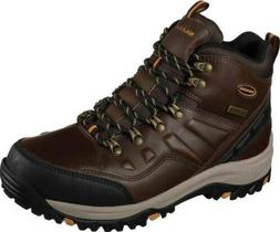 Skechers Mens Relaxed Fit Relment Traven Boot Memory Foam Wa