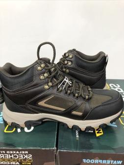 Skechers Mens Relaxed Fit Selmen-Regram Waterproof Boots Sho