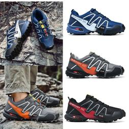 Mens Safety Shoes Work Boots Breathable Hiking Climbing Spor