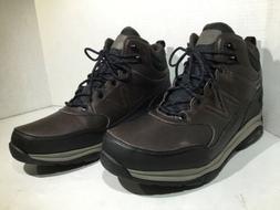 New Balance Mens Size 11.5 MW1400DB Brown Leather Hiking Boo