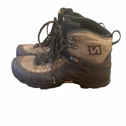 New Balance Men's Size 12 Brown Rainier Boots Gore-Tex Vib
