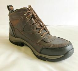 Mens Ariat Terrain Hiking Riding Work Boots Brown 9.5D 10002