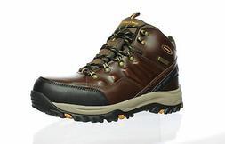 Skechers Mens Traven Dkbr Hiking Boots Size 10.5