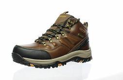 Skechers Mens Traven Dkbr Hiking Boots Size 8.5