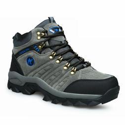 Mens Walking Hiking Trail Waterproof Ventilated Mid high-cut