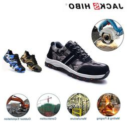 Mens Work Safety Shoes Hiking Breathable Outdoor Steel Toe C