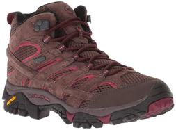Merrell Women's Moab 2 Mid Waterproof Hiking Outdoor Adventu