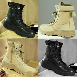 military tactical forced entry leather deployment boot