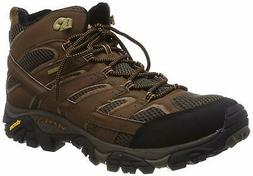 Merrell Men's Moab 2 Mid Gtx Hiking Boot, Earth, 9.5 M US