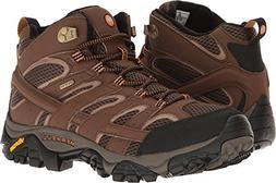 Merrell Men's Moab 2 Mid Gtx Hiking Boot, Earth, 14 M US