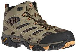 Merrell Men's Moab 2 Mid Gtx Hiking Boot, Walnut, 9.5 M US