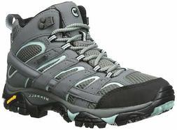 Merrell Women's Moab 2 Mid Gtx Hiking Boot, Sedona Sage, 8.5