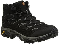 Merrell Men's Moab 2 Mid GTX Walking Boots Black 9.5 D US