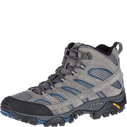 Merrell Men's Moab 2 MID Vent Sneaker, Castle/Wing, 12 M US