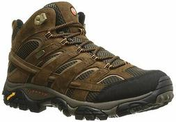 MERRELL MENS MOAB 2 MID WATERPROOF EARTH SIZE 9