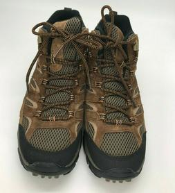 Merrell Men's Moab 2 Mid Waterproof Hiking Boot, Earth, 10 M
