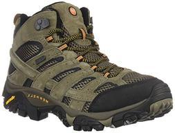Merrell Men's Moab 2 Mid Waterproof Hiking Boot  US, Walnut)