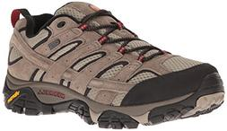 Merrell Men's Moab 2 Waterproof Hiking Shoe, Bark Brown, 10.