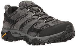 Merrell Men's Moab 2 Waterproof Hiking Shoe, Granite, 11 M U