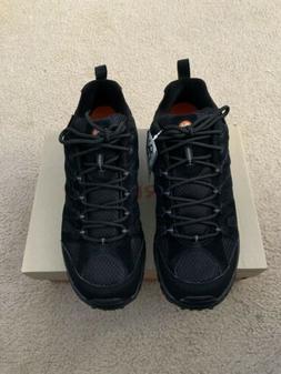 Merrell Moab Ventilator Black Night Hiking Boot Size 10.5