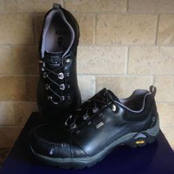 AHNU by Teva Montara II Black Leather Hiking Trail Boots Sho