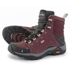 AHNU MONTARA WP HIKING BOOTS NEW WOMEN'S SIZE 9.5 RED MAHOGA