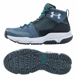 Under Armour Moraine Women Hiking Boots Shoes, Blue/Charcoal
