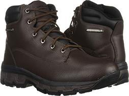 Skechers Men's Morson-SINATRO Hiking Boot, dkbr, 11 Medium U