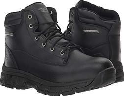Skechers Men's Morson-SINATRO Hiking Boot, Black, 12 Medium