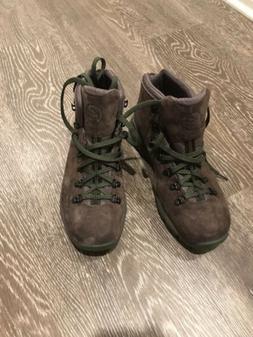 Danner Mountain 600 Dark Brown/Green Men's Hiking Boots - Si